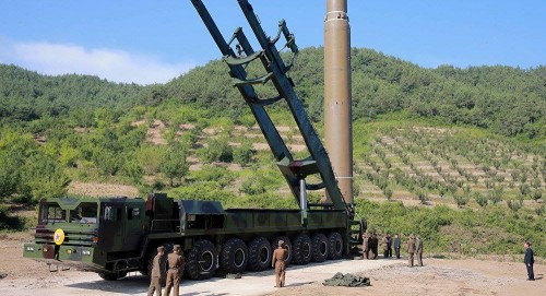 North Korea seen moving missiles from development center: South Korean broadcaster