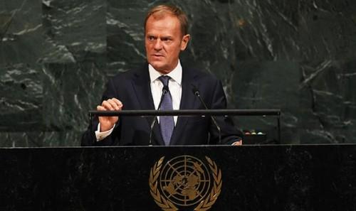 დონალდ ტუსკი - გაერო არის ადგილი, სადაც  ხდება მსოფლიო თანამეგობრობის მობილიზაცია ბოროტებასთან საბრძოლველად