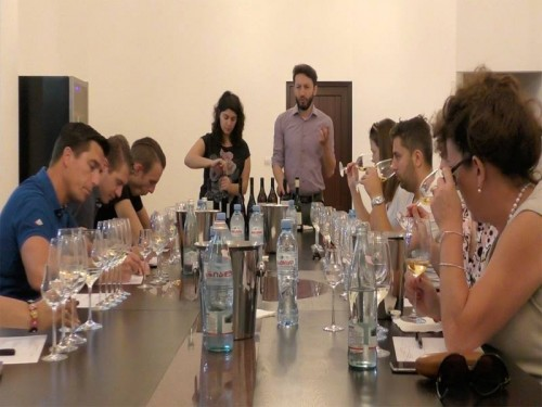 Dutch sommeliers visited Georgia