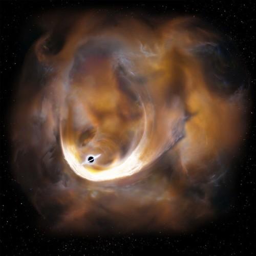 ირმის ნახტომის გულის სიახლოვეს გიგანტური შავი ხვრელი აღმოაჩინეს