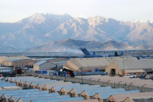 """ავღანეთში, ბაგრამის ავიაბაზასთან მომხდარ აფეთქებაზე პასუხისმგებლობა მოძრაობა """"თალიბანმა"""" აიღო"""