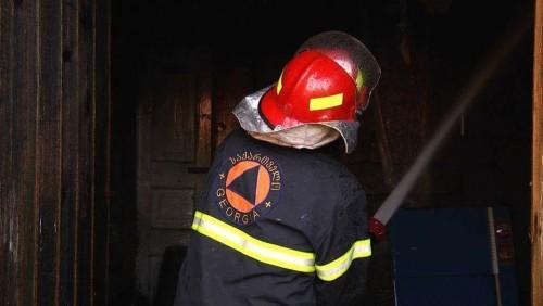House set ablaze in Zugdidi