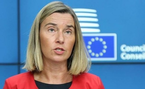 Federica Mogherini says Turkey still EU candidate country