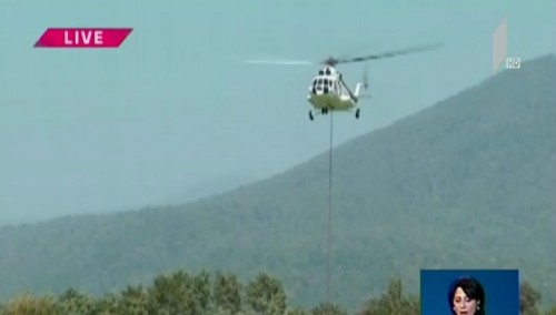 Firefighting works continue in Kakheti