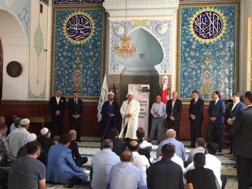 მთავრობის წევრებმა მუსლიმებს ყურბან ბაირამის დღესასწაული მიულოცეს