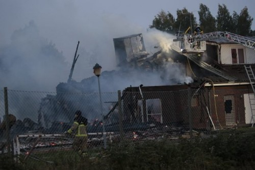 შვედეთის ქალაქ ერებრეში სუნიტურ მეჩეთს ცეცხლი გაუჩნდა