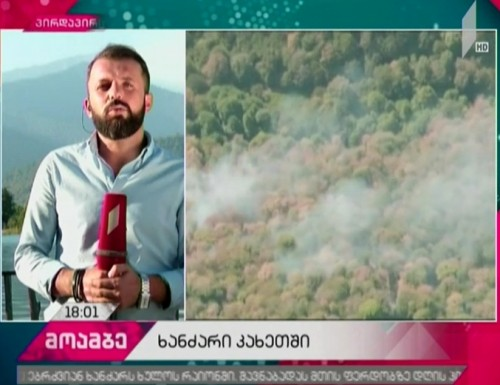 Firefighters battling flame in Kakheti and Tusheti - The latest information from disaster zone