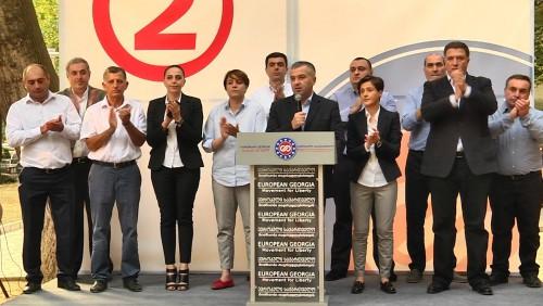 """""""ევროპული საქართველოს"""" ლიდერები გლდანში ამომრჩეველს შეხვდნენ"""