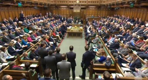 ბრიტანეთის პარლამენტმა ევროკავშირის კანონმდებლობის გაუქმების კანონპროექტი მეორე მოსმენით დაამტკიცა