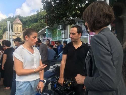 აჭარის ტელევიზიის ჟურნალისტი - თურქმა მებაჟეებმა წამართვეს ტელეფონი და პირადობა, ფიზიკურად შეგვეხნენ მე და ჩემს ოპერატორს