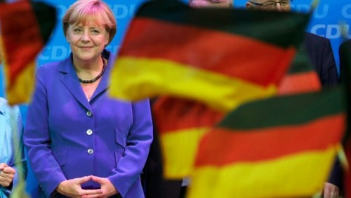 Angela Merkel wins fourth term but AfD makes gains, exit poll says