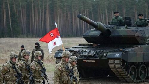 პოლონეთში მასშტაბური სამხედრო წვრთნები Dragon 2017 დაიწყო
