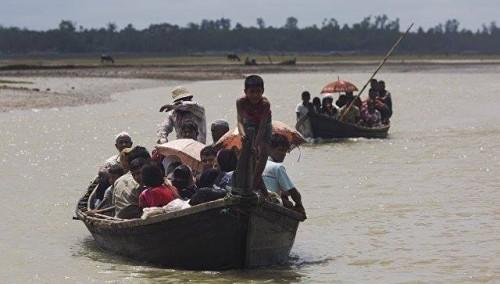 ბენგალის ყურეში მიანმარელი მუსლიმური თემის, როჰინჯების ნავის ჩაძირვის შედეგად 13 ადამიანი დაიღუპა