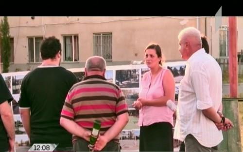 """""""ევროპული საქართველოს"""" რუსთავის მერობის კანდიდატი ქალაქში არსებულ პრობლემებზე საუბრობს"""