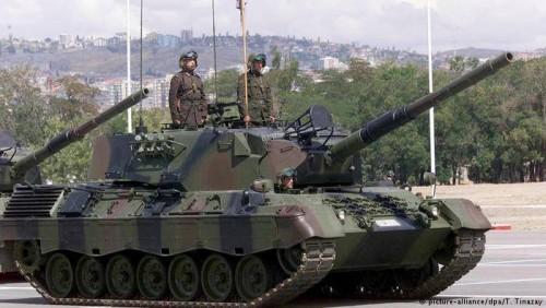 გერმანიამ ანკარასთვის იარაღის მიწოდების შეთანხმებების უმეტესობა შეაჩერა