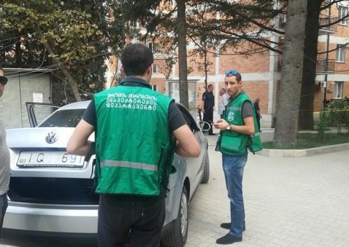 თბილისში, აფეთქების ადგილზე შრომის პირობების ინსპექტირების დეპარტამენტის წარმომადგენლები მივიდნენ