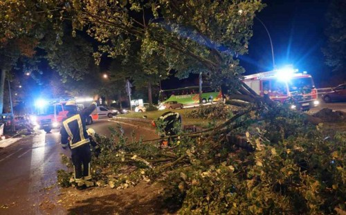 Six killed in powerful German storm