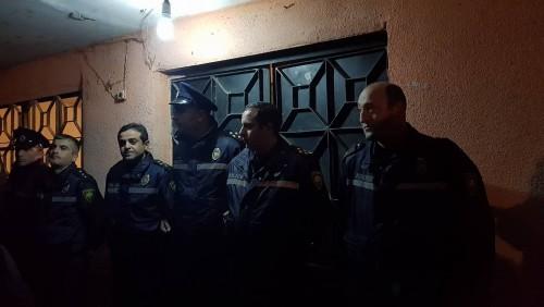 სოფელ თაზაქენდში, მეცამეტე საარჩევნო უბანზე საპატრულო პოლიციაა მობილიზებული