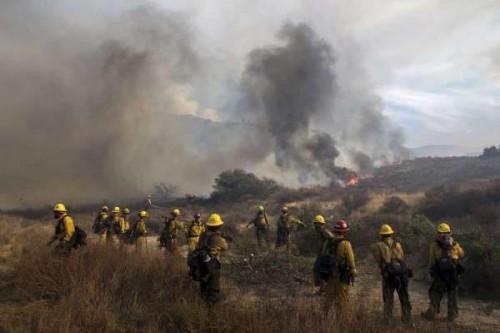 კალიფორნიაში ტყის ხანძრის გამო, საგანგებო მდგომარეობა გამოცხადდა