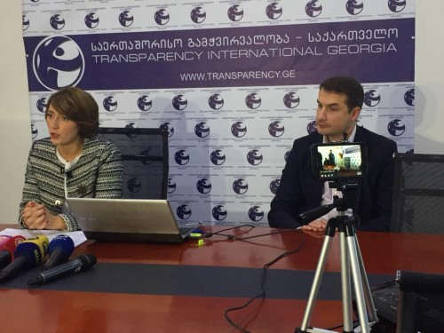Transparency International – Georgia publishes interim report