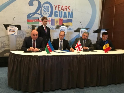 Foreign Ministers of Ukraine, Moldova and Azerbaijan signed joint communiqué
