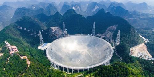 ჩინეთის გიგანტურმა რადიოტელესკოპმა პირველი აღმოჩენა გააკეთა