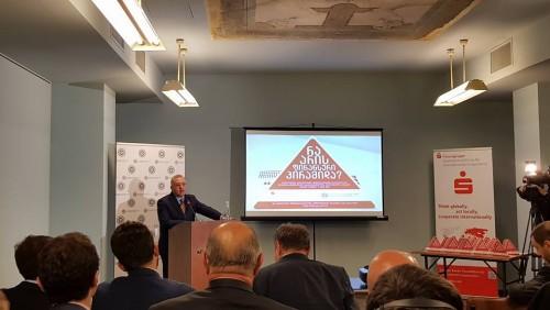 ეროვნული ბანკის პრეზიდენტი საზოგადოებას ფინანსური პირამიდების რისკების შესახებ აფრთხილებს [ვიდეო]
