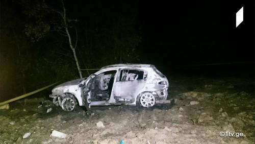 მანქანის დაწვის ფაქტთან დაკავშირებით, არასამთავრობო ორგანიზაციის წევრები დუშეთის პოლიციაში დაკითხვაზე გადაიყვანეს