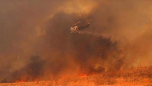 კალიფორნიაში, ტყის ხანძრის შედეგად, 10 ადამიანი დაიღუპა