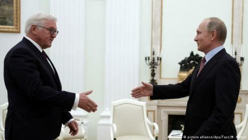 გერმანიის პრეზიდენტმა მოსკოვსა და ბერლინს დაახლოებისკენ მოუწოდა
