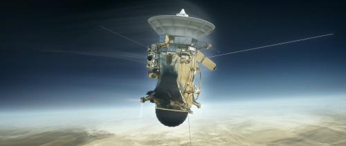 როგორი იყო კასინის უკანასკნელი წუთები სატურნის ატმოსფეროში - რეკონსტრუქცია