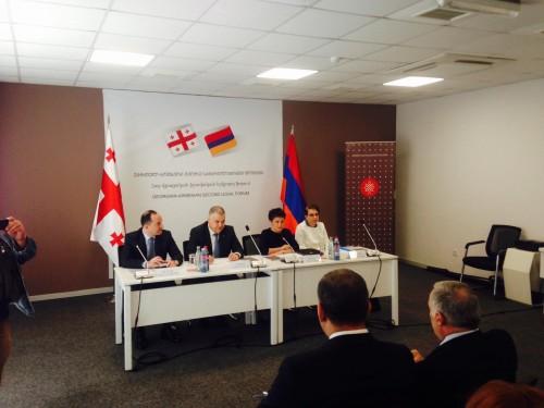 თბილისში სომხეთ-საქართველოს სამართლებრივი თანამშრომლობის ფორუმი მიმდინარეობს