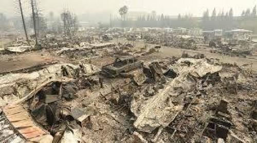 კალიფორნიაში ხანძრის შედეგად დაღუპულთა რიცხვი 21-მდე გაიზარდა