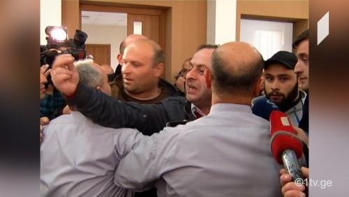 Giorgi Gugava forced to leave GNERC session