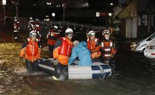 იაპონიის ქალაქ კურიამაში ევაკუაცია გამოცხადდა