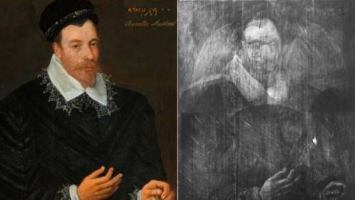 რესტავრატორებმა მე-16 საუკუნის ტილოს ქვეშ მარია სტიუარტის პორტრეტის ესკიზი აღმოაჩინეს