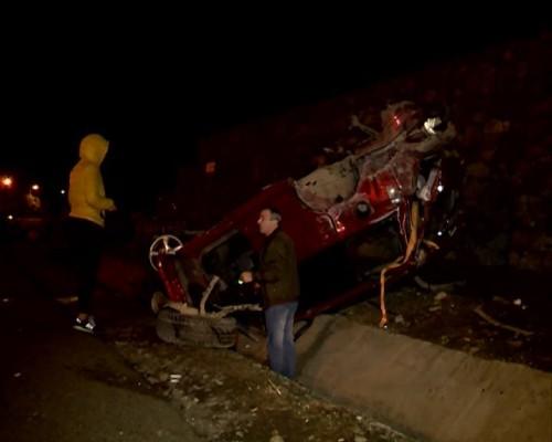 ჩაქვის გვირაბთან ავტოავარიის შედეგად ექვსი ადამიანი დაშავდა