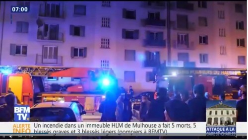 Eastern France social housing fire leaves 5 dead