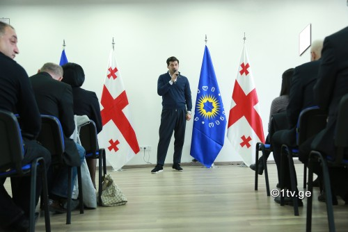 Newly elected Tbilisi Mayor holds meeting with majority members of Sakrebulo