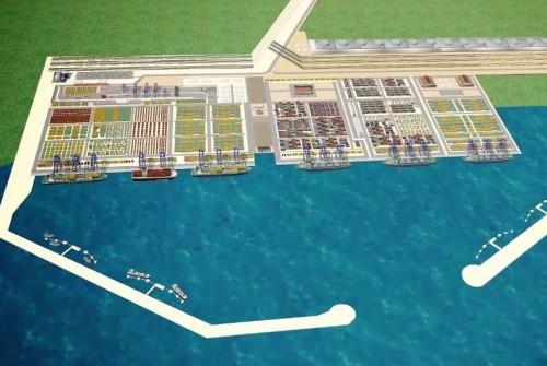 ანაკლიის პორტის მშენებლობა ბიუჯეტიდან  შესაძლოა, 244 მილიონი ლარით დაფინანსდეს