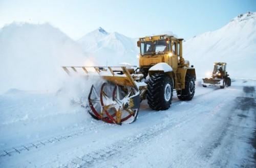 გუდაური-კობის მონაკვეთზე ინტენსიური თოვის გამო მოძრაობა შეიზღუდა