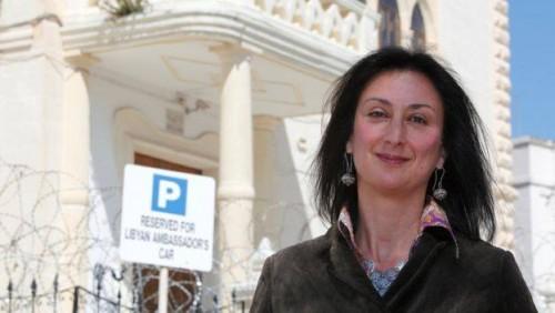მალტაში მოკლული ჟურნალისტის შვილი მკვლელობაში მთავრობას ადანაშაულებს