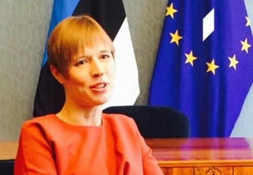 ესტონეთის პრეზიდენტი - საქართველო წინ მიიწევს და უახლოვდება ევროკავშირს