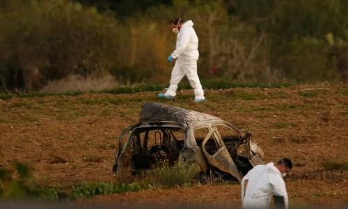 მალტაში ჟურნალისტი საკუთარ მანქანაში ააფეთქეს
