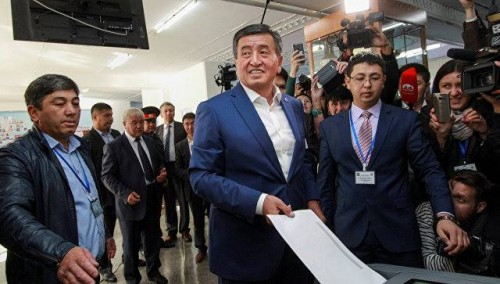 Early Results Show Jeenbekov Leading Vote Count In Kyrgyz Presidential Election