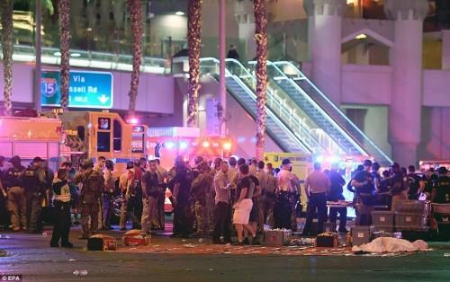 Las Vegas Shooting: More Than 50 Killed and 200 Hurt Near Mandalay Bay