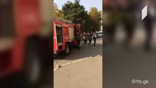 გაბრიელ სალოსის ქუჩაზე, ერთ-ერთ საცხოვრებელ ბინაში აფეთქება მოხდა