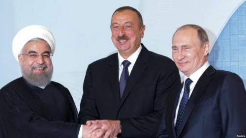 ვლადიმერ პუტინი, ილჰამ ალიევი და ჰასან როუჰანი 1-ელ ნოემბერს თეირანში შეხვდებიან