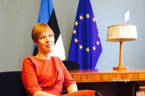 """ესტონეთის პრეზიდენტი - """"აღმოსავლეთ პარტნიორობის"""" მონაწილე ქვეყნებიდან საქართველო ლიდერია, პატივს სცემს და იზიარებს ჩვენს ღირებულებებს"""
