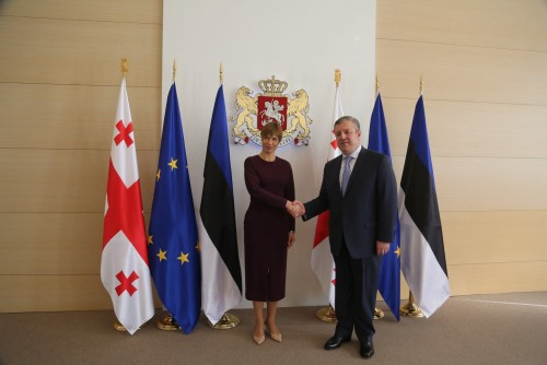 Giorgi Kvirikashvili meets with President of Estonia